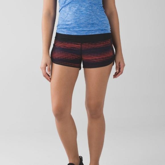 lululemon athletica Pants - Lululemon Run Speed Short 4 Way Stretch